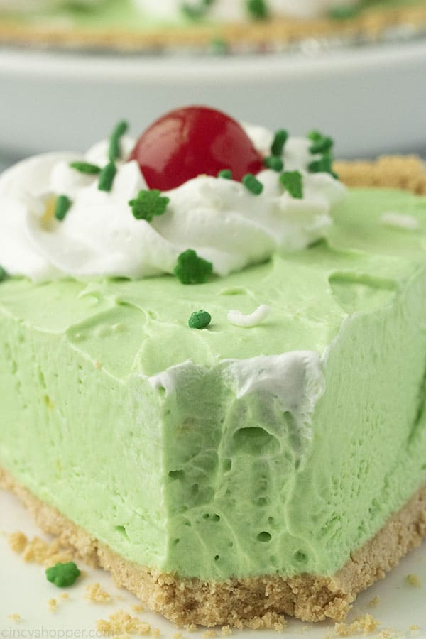 No Bake Shamrock Pie