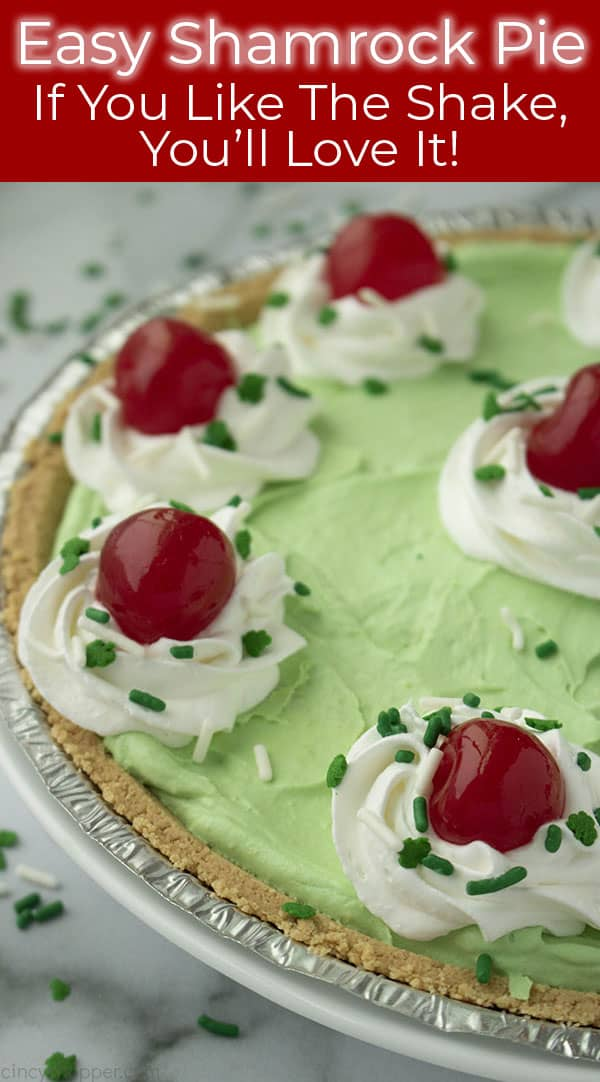 Long image of Shamrock Shake Pie