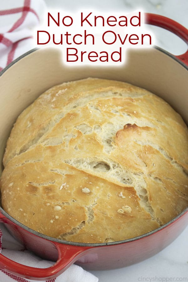 Text on image 4 Ingredient Homemade Bread