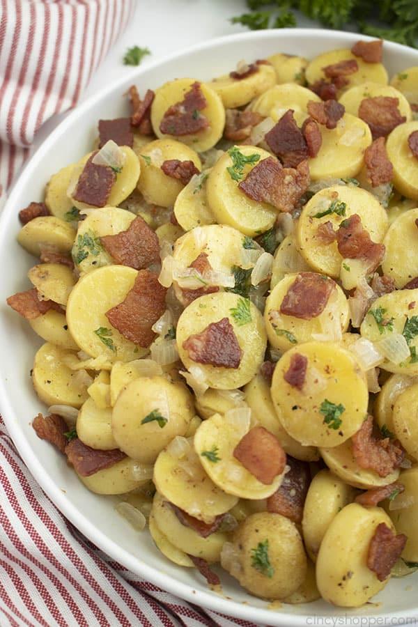 Warm German Potato Salad Cincyshopper