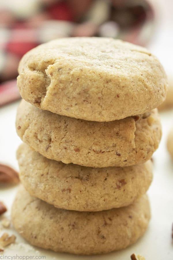 Pecan Cookies stack