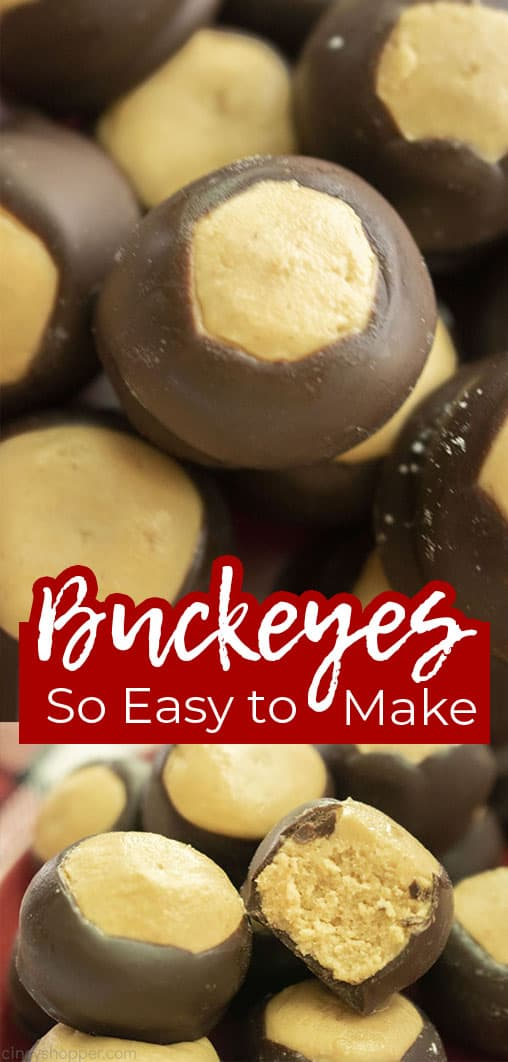 Long pin collage Buckeyes So Easy to make
