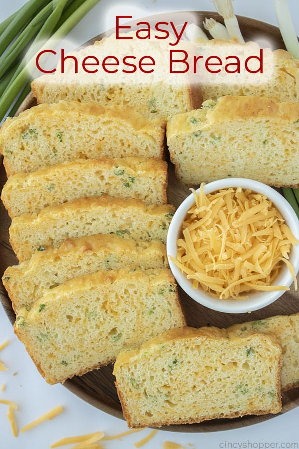 Text on image Cheese Bread