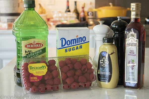 Ingredients for Raspberry Dressing