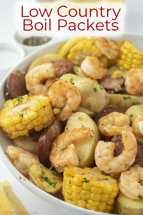 Text on image Low Country Boil Packets