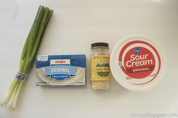 Ingredients for Onion Dip