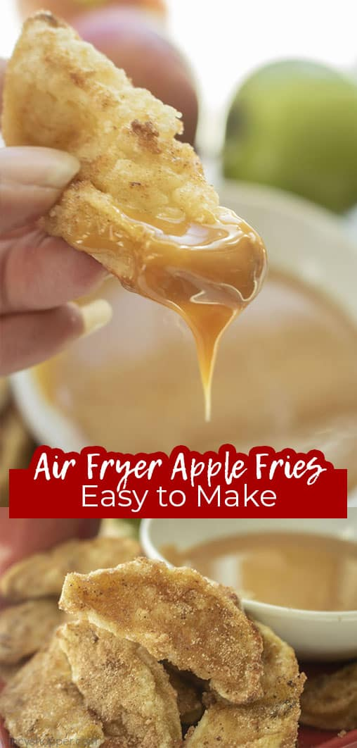 Long pin Air Fryer Apple Fries Easy to Make