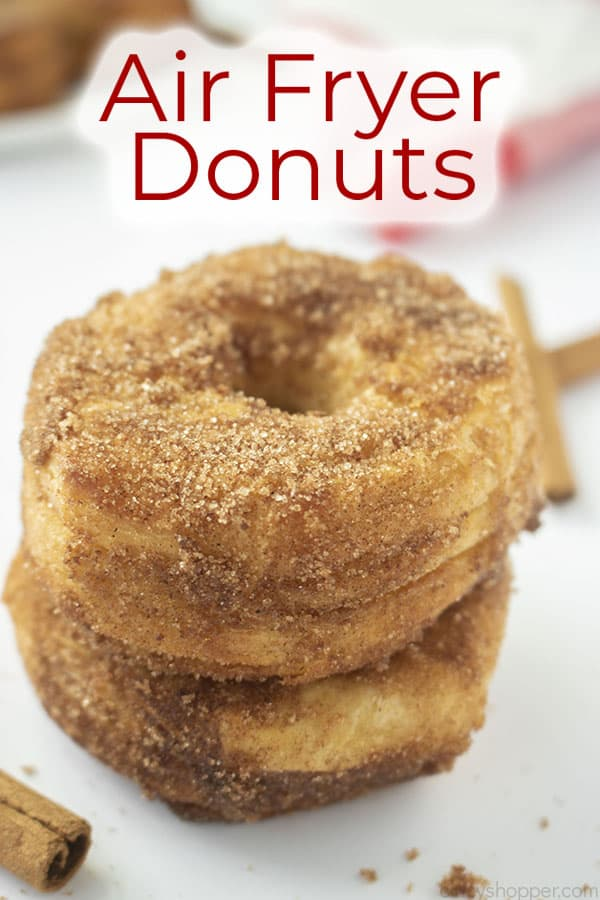Text on image Air Fryer Donuts