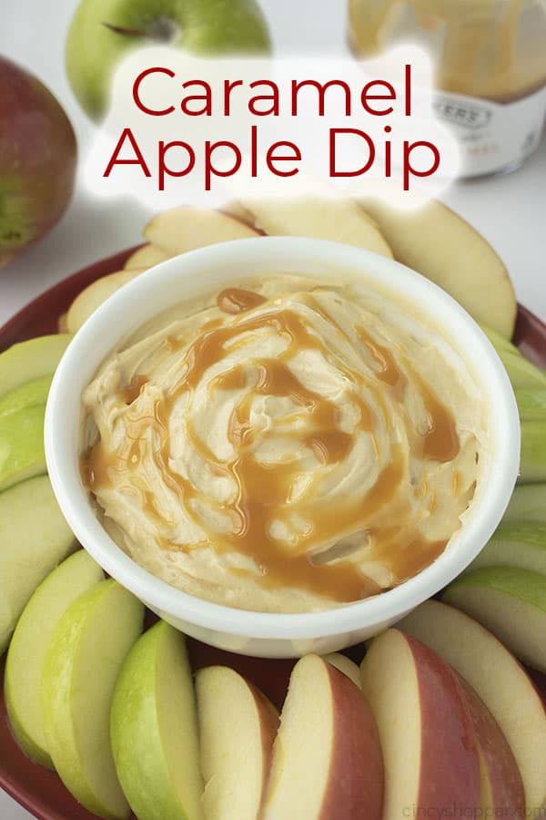 Text on image Caramel Apple Dip