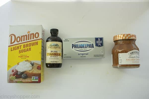 Caramel Dip Ingredients