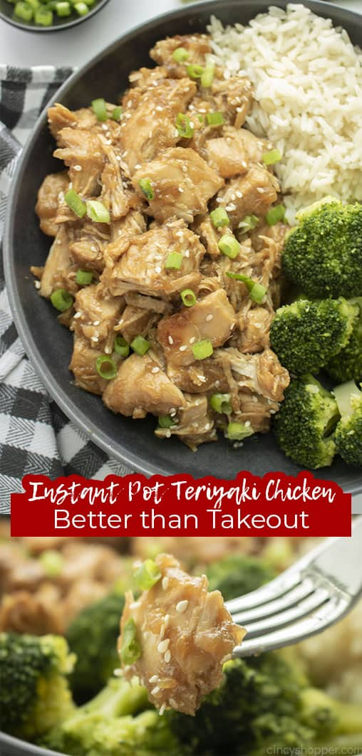 Long p in Instant Pot Teriyaki Chicken Better than Takeout