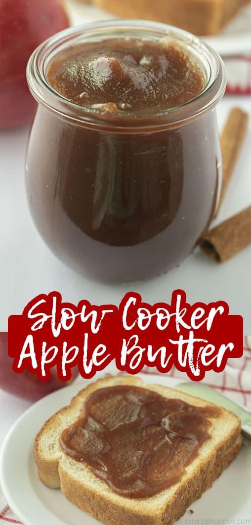 Long pin Slow Cooker Apple Butter